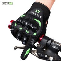 Wholesale WOSAWE Motorcycle Gloves Waterproof Windproof Protective Racing Gloves Full Finger Breathable Guantes Luvas For Four Seasons