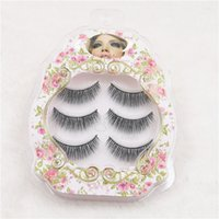 best hair layers - FOGEOS pairs D Handmade Natural Long Multi Layer Thick Black False Eyelashes Extension Best Quality Beauty Makeup