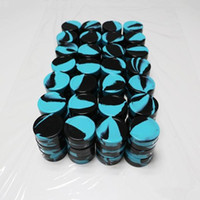 Wholesale Silicone Wax Containers Oil Non stick Silicone Silicon Oil mL ml Containers Jars Wax vaporizer pen