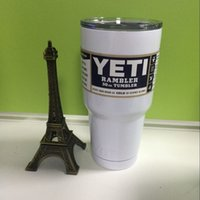 Wholesale YETI oz oz oz Cups pink oz pink colored oz cups oz Bottle Colster Rambler Mug Tumbler Stainless Steel free DHL