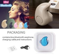 Neckbands bluetooth Prix-Earbud intra-auriculaire S530 Pour iphone 6s Mini écouteurs Bluetooth Casque Bluetooth Sports Bluetooth Neckband Boîte de vente au détail sans fil