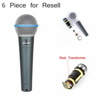 best pc microphones - Best Quality Real transformers New Beta A Clear Sound Handheld Wired Karaoke Microphone For Resel