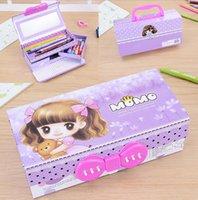 Wholesale New High Quality Children Portable Hand written white boards Stationery Set For Kid