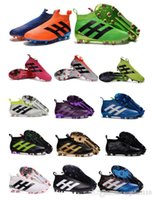 Wholesale Laceless Youth Soccer Cleats Ace purecontrol soccer boots Pure Control Football Shoes Kids boys Soccer shoes Mens Womens Original Cleats