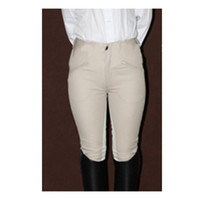 beige breeches - Women sport outside High quality cotton spandex Riding Breeches Professional EquestrianismBreeches Equestrian Horse Riding Pants Beige