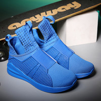 Wholesale Hot sell new Rihanna joint with the paragraph shoes casual shoes fashion shoes breathable men s shoes Mesh shoes ityty