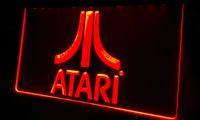 atari logo - LS364 r Atari Game PC Logo Gift Neon Light Sign jpg