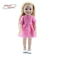 american doll house - 18 inch cm American Girl Dolls Realistic Toys For Kids Play House Toys Great Gift Accompany Sleep Doll