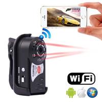 Wholesale WiFi spy camera Hidden camcorder Video Record Mini DV Wireless IP Camera Hidden camcorder Video Recorder mini DV NEW MD81