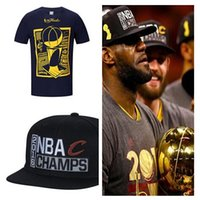 Wholesale 2016 champions caps hats champions caps tshirts set sale Hotsale basketball caps tshirts size S XXL