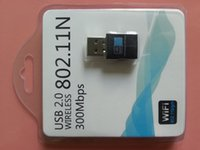 Wholesale Foreign trade MBPS Wireless n black m built in antenna Wireless card USB Adapter