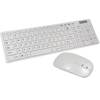 Wholesale White G Wireless Keyboard and Mouse Combo for Mac Dell Hp Lenovo PC Desktop Computer by Keeping