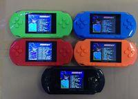 achat en gros de jeux vidéo bon marché-Outlet Pas Cher NOUVEAU Jeu PXP3 10 ~ 100 PCS, 3,0 PSP Portable Game Players PXP3 16 bits Handheld console de jeu vidéo Console 5 couleurs