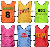 advertising football - Adult children s running sundress basketball football training service against packet service vest clothing advertising development
