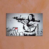 Wholesale Hot Classical Banksy Art Picture Home Decoration Painting Custom Canvas Prints Picture from Digital Photo for Home