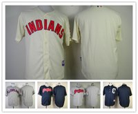 baseball details - baseball Jerseys Cleveland Indians customized jersey any name any number remark for details freeshipping