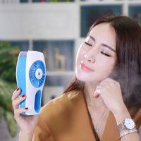 air spray stocking - Handheld charging beauty humidifying fan usb mini fan fan The spray fan portable air conditioning small fan