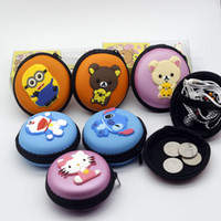 Wholesale cartoon children Despicable me Easily bear Hello Kitty Coin Purse Lovely Coin Bag Money Bag Style Coin Wallet