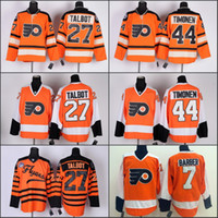 barber jersey - Philadelphia Flyers Ron Hextall Kimmo Timonen Bill Barber Jerseys Ice Hockey Winter Classic Team Color Alternate stitched