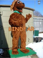best buddies - Best Buddy Brown Dog Mascot Costume Adult Fancy Dress Cartoon Character Outfit Suit