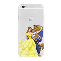 beauty beast cover - Phone Case for iphone S Plus S SE Beauty and the Beast Snow White Princess creative New Phone Silicone Protective Cover