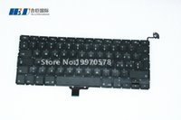 Wholesale NEW arrivals Laptop Keyboard For Mac book Switzerland Keyboard For Mac book Pro quot A1278