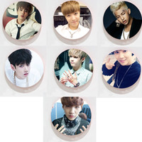 Wholesale 2016 new KPOP Fan BTS Bangtan Badge Boys Bulletproof Boy Scouts Pins Men and Women Brooches bts beanie k pop k pop
