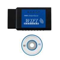 Wholesale ELM327 OBDII WiFi Diagnostic Wireless Scanner ELM OBD2 for Apple iPhone Touch