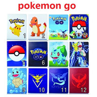 ball bundle - New Poke Go Pikachu Elf Ball Case PU Leather Stand Bags Pouch IPad Mini quot Air Ipad quot Tablet PC Flip Cover colors