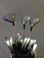 Wholesale Women Complete Set Golf Clubs XXIO9 MP900 Driver XXIO MP900 Fairway woods XXIO9 MP900 Golf Irons PAS total