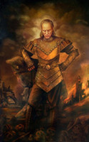 Wholesale Vigo the Carpathian Genuine Handpainted Portrait Art oil Painting On Canvas Museum Quality in any size chosen