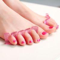 Wholesale 2 Piece Toe Separator Set Manicure Pedicure Beauty Salon Accessory