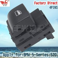 Wholesale Factory Direct Pins Master Electric Auto Power Main Window Switch Apply for BMW SERIES