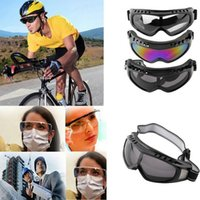 Wholesale Protection Airsoft Goggles Tactical Paintball Clear Glasses Wind Dust Motorcycle arrival