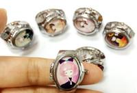 al por mayor reloj del anillo vendido-XRNB283-Anillo Watch 2016 Mejor Nueva vendimia flor chica anillo de la moda de la moda de la moda Pareja relojes relojes para los estudiantes de forma redonda / Oval 30pcs