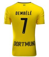 Wholesale A Thai quality Borussia Dortmund home Soccer Jersey Dortmund M GOTZE DEMBELEsoccer jerseys Free shippin