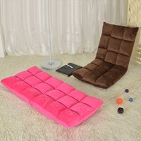 Wholesale Creative Lazy Sofa Single Sofa Bed Foldable Cushion Tatami Living Room Bedroom Office Leisure Sofa Chair JC0072