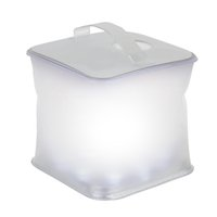 Wholesale Cube Solar Inflatable LED Light Lamp Lantern Night Lights PVC Waterproof IPX7 Dimmable Indoor Outdoors Camping