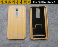 asus bamboo - 100 Solid Wood Bamboo Case For Asus Zenfone ZE551ML inch Wood Phone cases Cover Luxury Handmade Wooden Covers Zenfone2 Protector