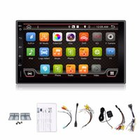 Wholesale 2016 Newest Din Pure Android Universal Car Dvd Player Pc Gps Navigation Stereo Video Multimedia Capacitive Screen