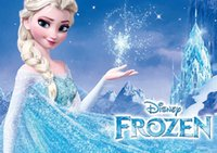 Wholesale Bobbi doll Disney snow romance shine Princess Elsa for young girls solid color pc box drop shipping