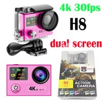 Wholesale EKEN H8 Action Camera K fps Ultra HD Wifi Degree Wide Angle M Waterproof MP Photo DV Sport Video Cam