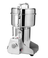 Wholesale New G Swing Full Stainless Herb Grinder Food Grinding Machine Coffe Grinder Electric Flour Mill