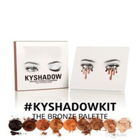 Wholesale stocking New Kylie Cosmetics Bronze Eyeshadow KyShadow Palette Colors in set