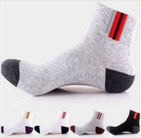 Wholesale 5 Paris Cotton Bamboo Fiber Classic Business Men Socks Good quality Gay Mens Socks For Men Autumn winter Casual Socks Meias Sox