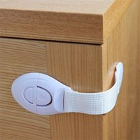 Wholesale Cabinet Door Drawers Refrigerator Toilet Safety Plastic Lock For Child Kid Baby Safety High Quality DCBB66