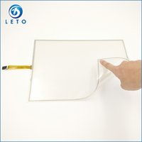 Wholesale 15 inch Flexible Wire Resistive Touch Screen Panel includes USB Controller For photobooth photo kiosk Laptop