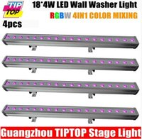 RGB architectural channel - Freeshipping XLOT IP65 RGBW Led Wall Washer Light x W Real Led Power Architectural LED Lighting DMX512 Control Channels