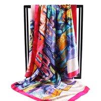 Wholesale Scarves Wraps Print Large Square scarves Infinity Scarves New Design Bandanas all match autumn Lady Fashion Scarf