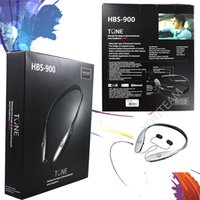 bass neck - HBS900 Bluetooth headset HBS neckband and retractable in ear flexible neck strap with volume control and microphone strong bass